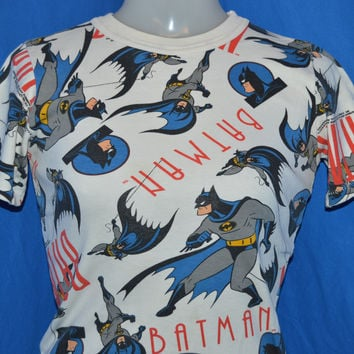 90s Batman Cartoon All Over Print t-shirt Youth Medium