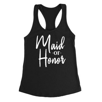 Maid of honor tank top, matron of honor tank, babe of honor Tank Top