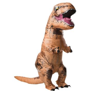 T Rex Inflatable W Sound Adult Costume
