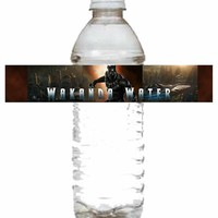 Wakanda Water Water Bottle from Creativity Island Invitations
