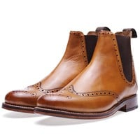 Grenson Jacob Brogue Chelsea Boot