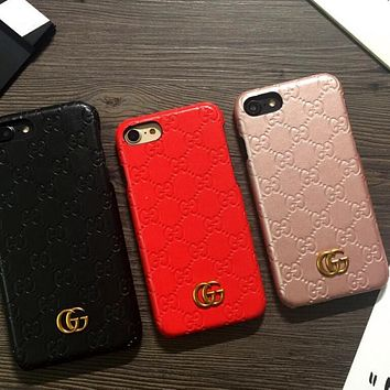 GUCCI Fashion iPhone Phone Cover Case For iphone 6 6s 6plus 6s-p 1d2edc4a7a