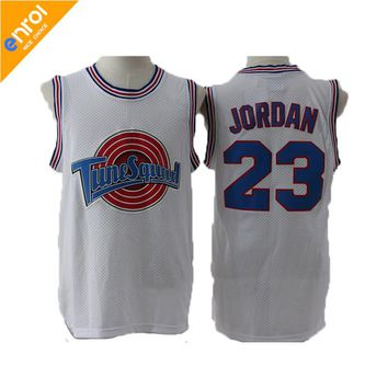 Space Jam TuneSquad Basketball Jerseys BUGS#1 DUCK#2 LOLA#10 MURRAY#22 JORDAN Jersey 23# TAZ Men Sleeveless Shirt