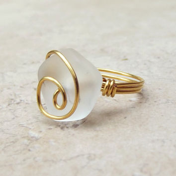 Shop Wire Wrapped Wedding Rings on Wanelo