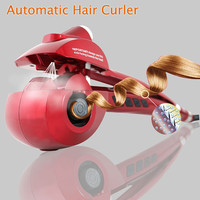 Free shipping Automatic Hair Curler Steam Spray Hair Care Styling Tools Ceramic Wave Hair Roller Magic Curling Iron Hair Styler