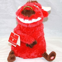 NWT! HALLMARK EL TORO OF LOVE Plushed BULL With SOUND & MOTION