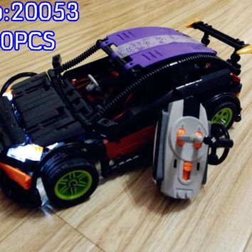 The Hatchback Type R Set MOC-6604 Building Blocks Model Educational Toys For Children 20053 Compatible Brick
