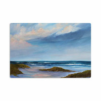 "Rosie Brown ""Summer Showers"" Beach Aluminum Artistic Magnet"