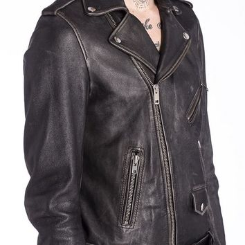 Diesel L SEDDIK Leather Jackets - Diesel Official Online Store