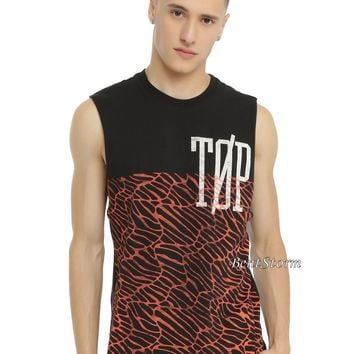 Licensed cool 21 Twenty One Pilots Scales TOP band logo Men's Muscle Tank Top Shirt S M XL NEW