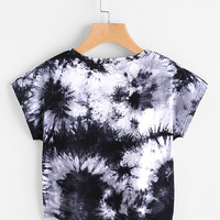 Water Color TeeFor Women-romwe