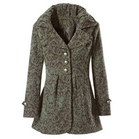 Slate/Teak Jacket - New Age, Spiritual Gifts, Yoga, Wicca, Gothic, Reiki, Celtic, Crystal, Tarot at Pyramid Collection