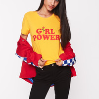 Girl Power With Rose T-shirt | NYLON SHOP