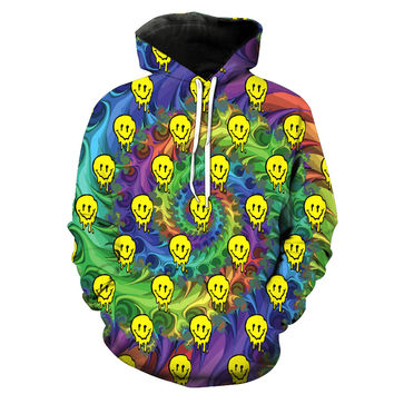 Half Baked Mr. Nice Guy Party Accessories Tie Dye Hoodie