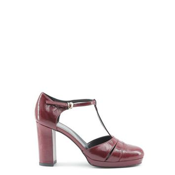 Made In Italia Red Leather Pumps
