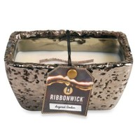 RibbonWick™ Rectangle Sugared Amber Collection Scented Candle