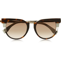 Fendi - Cat eye acetate sunglasses