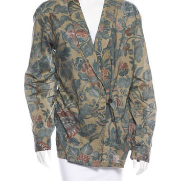 Dries Van Noten Paisley Jacket