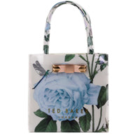 Ted Baker Flower Women Shopping Leather Handbag Tote Satchel bag