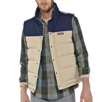Patagonia Men's Bivy Down Vest | Fatigue Green