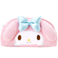 Buy Sanrio My Melody Plush Face Curved Zipped Pen Pouch at ARTBOX