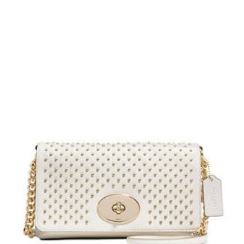 Coach Crosstown Crossbody With Pinnacle Studs Leather
