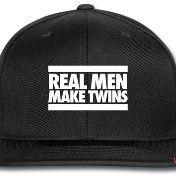 Real Men Make Twins snapback
