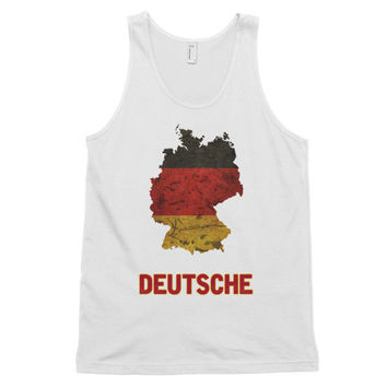 The Deutsche Flag Tank Top