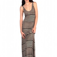 Veronica M Form Fitting Tank Maxi Dress