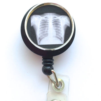 Xray Retractable Badge Holder-Id Badge Reel-Nursing Id Lanyard,nurse ,xray tech