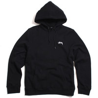 Diamond Applique Pullover Hoody Black