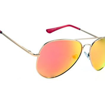 Classic Large Retro Aviator Sunglasses Pilot Conrad Men Women Spring Hinge Frame