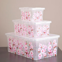 Cherry Blossom Plastic Storage Collection - See Jane Work