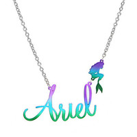 Disney The Little Mermaid Ariel Name Necklace | Hot Topic