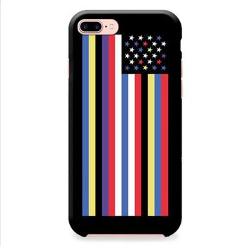 GIVENCHY AMERICAN FLAG iPhone 8 | iPhone 8 Plus Case