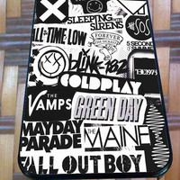 The xx, coldplay, arctic monkeys, the neighbourhood, sleeping with sirens for iPhone 4/4s/5/5S/5C/6, Samsung S3/S4/S5 Unique Case *junglest*