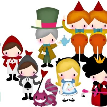 Alice In Wonderland SVG Cutting File
