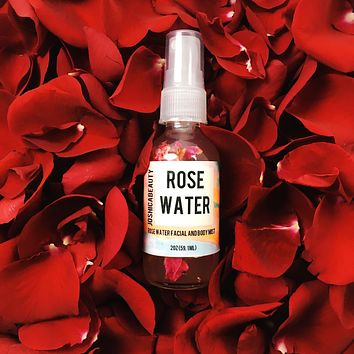 Rosewater Botanical Facial and Body Mist
