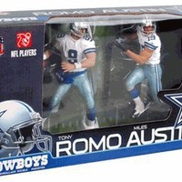 McFarlane Toys NFL Sports Picks Action Figure 2Pack Miles Austin Tony Romo (Dallas Cowboys)