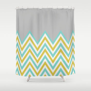 Best Green Chevron Curtains Products On Wanelo