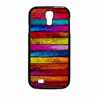 Wood Stripes Samsung Galaxy S4 Case