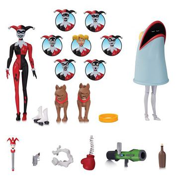 Batman: TAS Harley Quinn Action Figure with Expressions Pack - DC Collectibles - Batman - Action Figures at Entertainment Earth