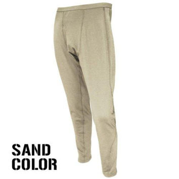 Base II Midweight Drawer Pants Color- Sand (XX-Large)