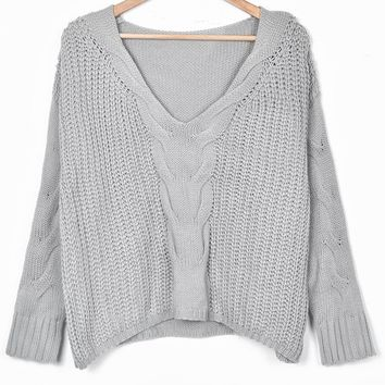 Cupshe Welcome Home Loose Sweater