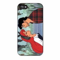 ariel and erick punk kiss disney princess case for iphone 5 5s