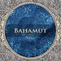 BAHAMUT Mineral Eyeshadow: 5g Sifter Jar, Cobalt Blue with Aqua Sparkle, VEGAN Cosmetics, Shimmer Eye Shadow