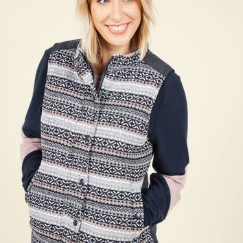 Sweater Left Unsaid Knit Vest | Mod Retro Vintage Vests | ModCloth.com