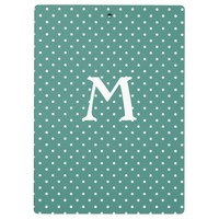 Father's Day Poster with Polka Dots & Black Label Clipboard
