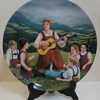 Knowles Plate 1986 The Sound of Music Collection 2nd Issue - Do Re Me