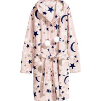 Fleece Bathrobe - from H&M